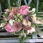 Wedding Bouquet Greenery Florist