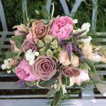 Brides and Bridesmaids Wedding Flowers